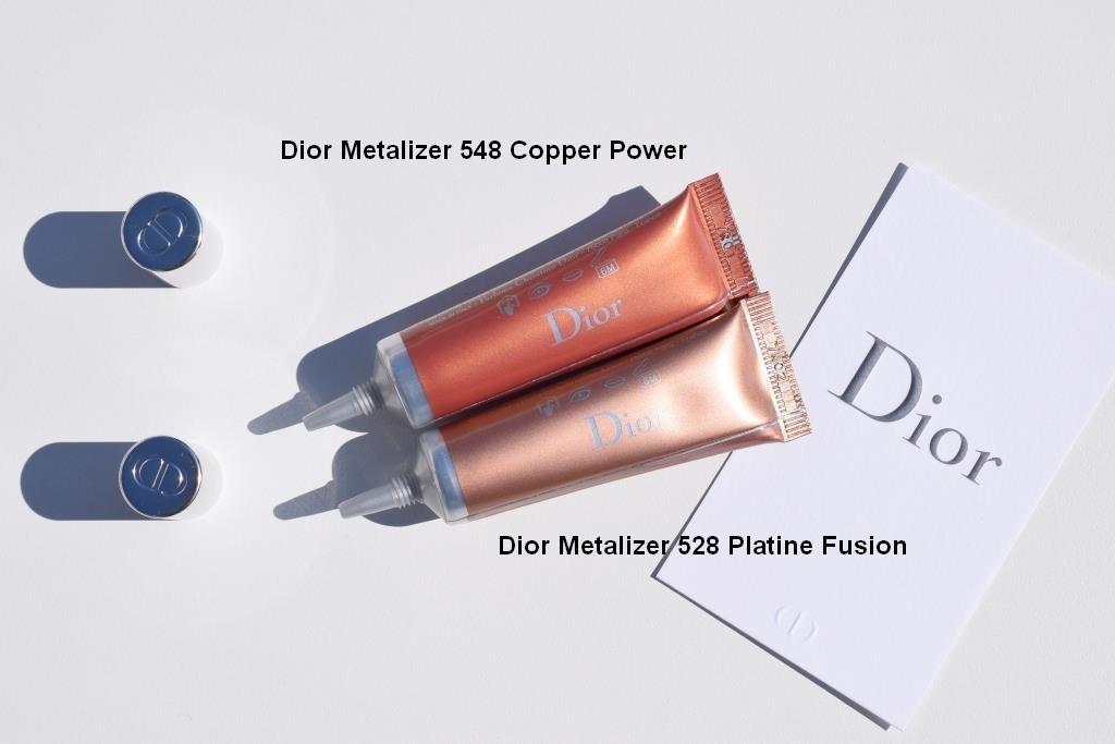 Dior Metalizer Copper Power Platine Fusion