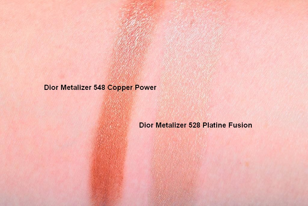 Dior Metalizer Copper Power Platine Fusion swatch