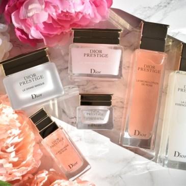 Dior Prestige, soins de luxe à la rose de Granville