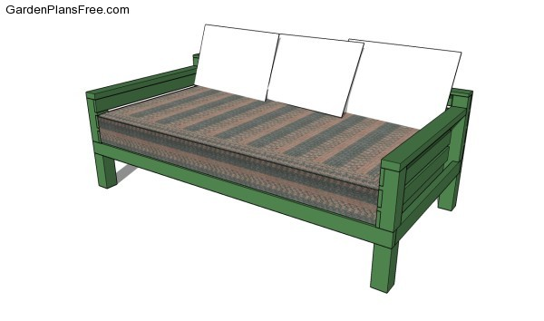 8 Free Daybed Plans Free Bed Frame Plans How To Build A