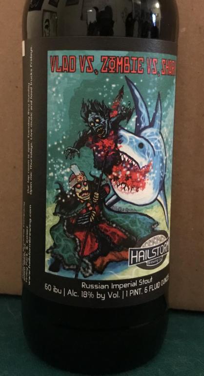 """Képtalálat a következőre: """"HAILSTORM Vlad vs Zombie vs Shark"""""""