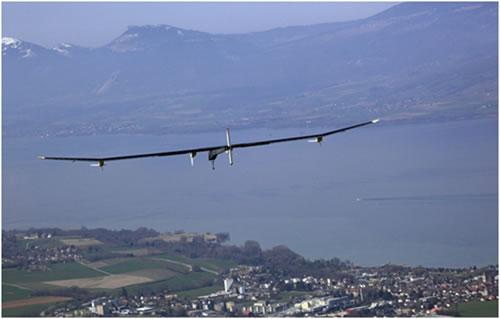 O Avião Solar Impulse HB-SIA1