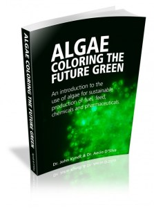 Bio-refinarias - Algae Coloring the Future Green (Fonte: algaeforbiofuels.com)