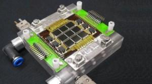 Energia Solar -  Chip Fotovoltaico com Sistema de Resfriamento Inspirado no Design Inteligente das Ramificações dos Vasos Sanguíneos Humanos (crédito: IBM)