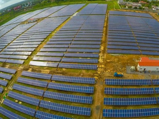 Aeroporto a Energia Solar - Usina Solar do Cochin International Airport (Fonte: Cochin airport)