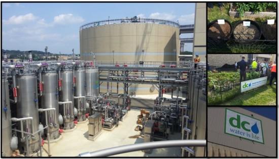Biogás em DC - Estação de Tratamento de Esgotos de Washington nos US (Fonte: DC-Water)