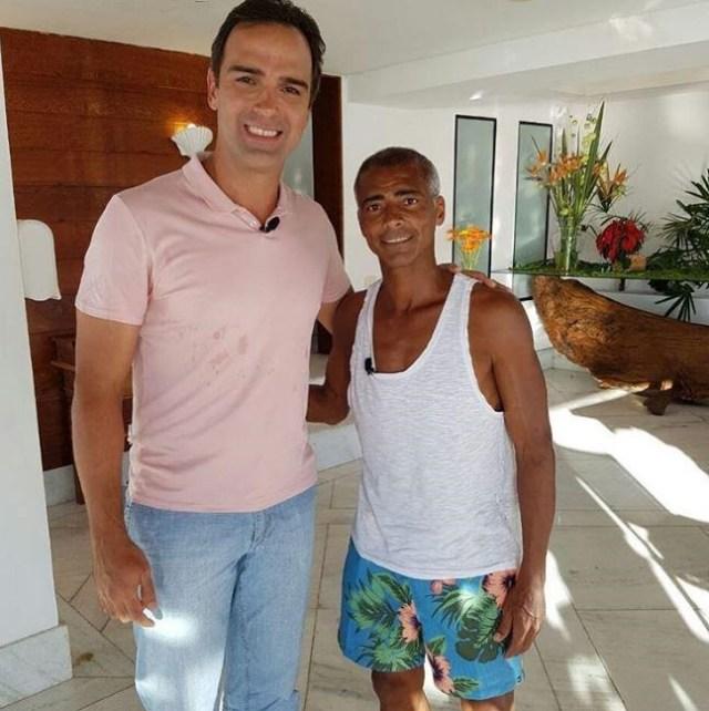 Pré-Diabetes 103: Romário se ele tivesse prevenido-se teria uma grande chance de não ser hoje portador de Diabetes 2 (Fonte:Globo)