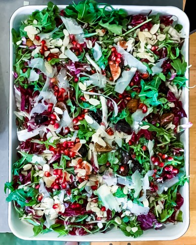 Fig, Radicchio and Arugula Salad, photo by: Valerie Six