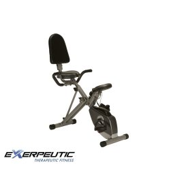 Exerpeutic 400XL Folding Recumbent Bike,best exercise bike brands
