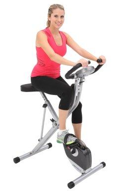Exerpeutic Folding Magnetic Upright Bike Review,best upright exercise bike,best upright bike