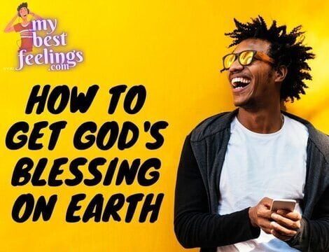 how to get God's blessing on this wonderful world