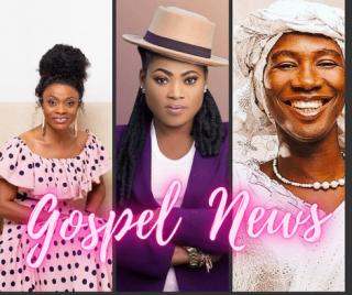 Cecilia Marfo, Diana Asamoah and Joyce Blessing