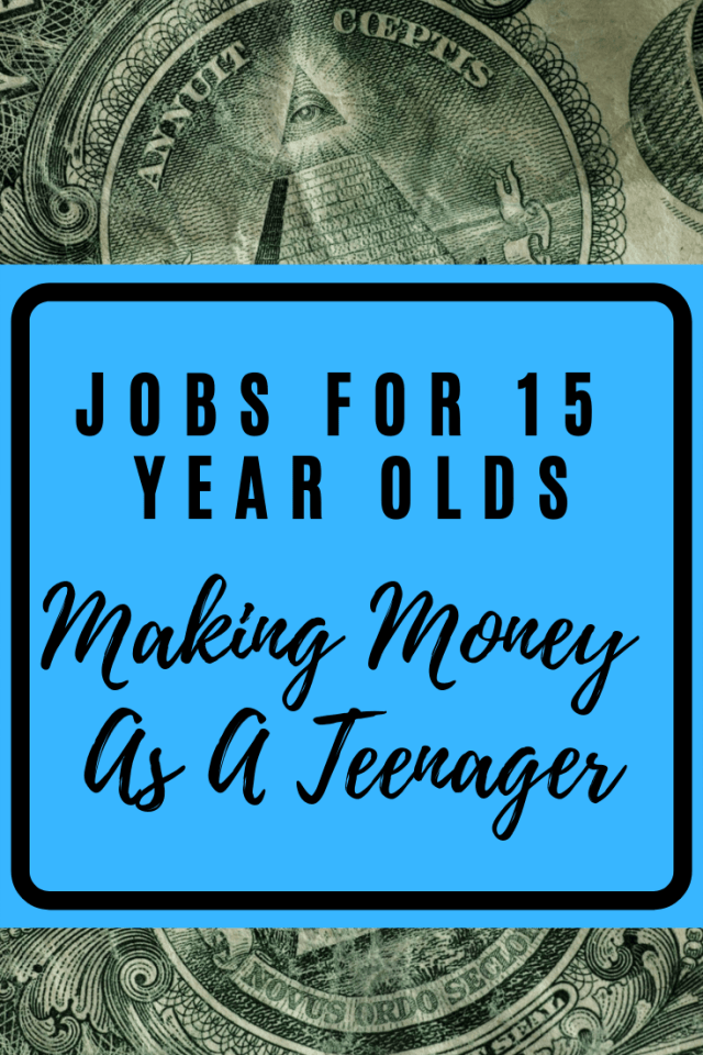 Job Positions For 15 Year Olds