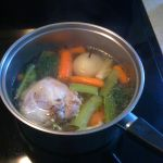 German Chicken Soup or Broth made from Scratch