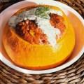 Filled pumpkin germanrecipes germanfood