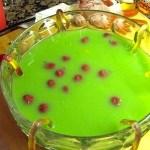 Halloween Recipes: Green Punch