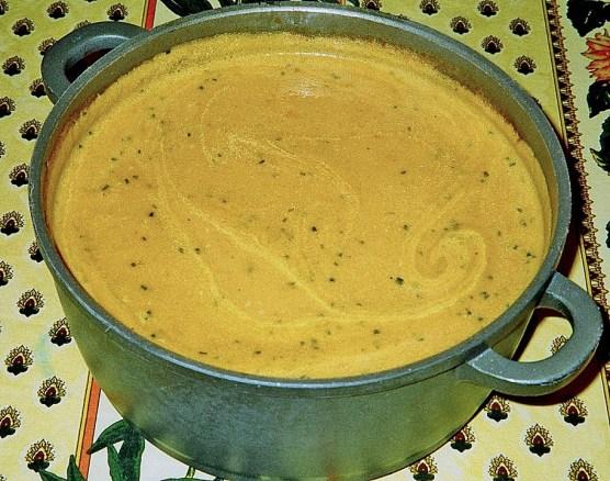 pumpkin beer soup