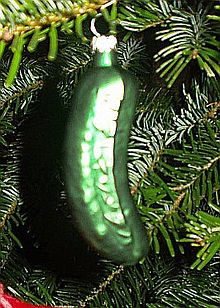 german christmas pickle