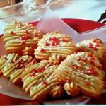 German Spritzgebaeck Cookies  for Christmas & Holidays