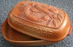 german bread pot