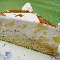 German Christmas Apple Cake - Festive Cake