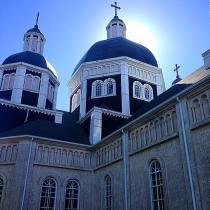 Ukranian Church, Manitoba Canada