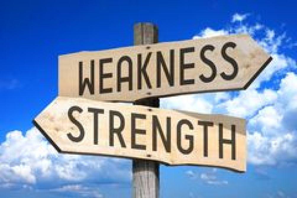 Weakness/Strength Signpost