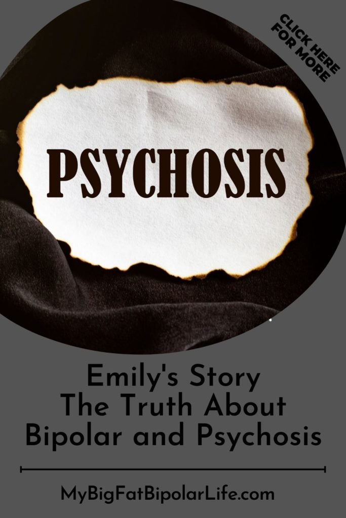 Meet Emily. Today she shares her personal experience with bipolar disorder and psychosis. Emily is candid about her harrowing brush with psychosis, her hospitalization, diagnosis, treatment plan, and her life today. #Bipolar #BipolarDisorder #SurvivingBipolar #BipolarAwareness #BipolarStories #Psychosis