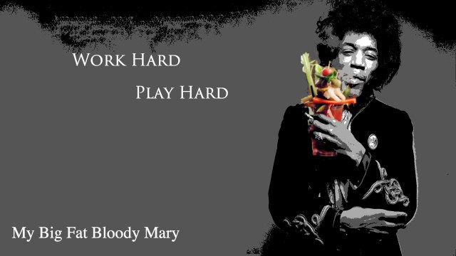 Jimi Hendrix Bloody Mary