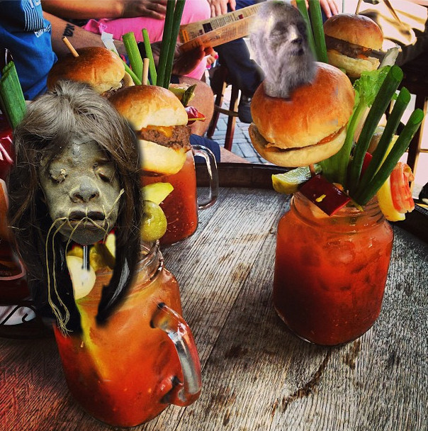 Head of the Class Bloody Mary at the Brunch Alibi