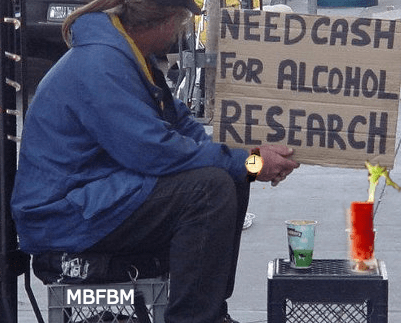Alcohol research donations