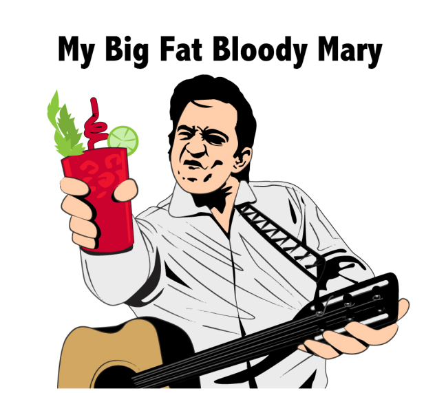 My Big Fat Bloody Mary Stickers