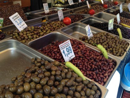 Olives galore