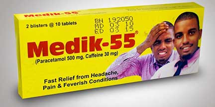 Medik 55 Tablet is used to treat painful conditions such as headache  including migraine, which is characterized by a recurrent headache ranging  in severity from moderate to severe, toothache, backache, pain and