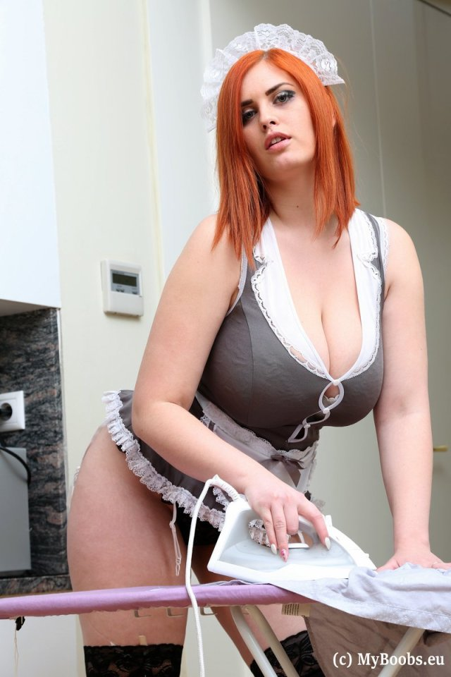 Big Tits Redhead Maid Alexsis Faye Is Here To Do Your Ironing In A Hot Little Maids Uniform But What She Really Wants Is To See Just How Hard She Can Get