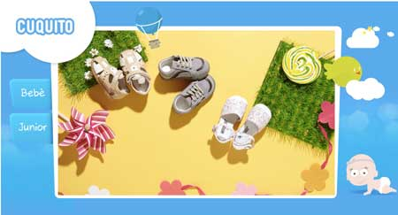 cuquito scarpe