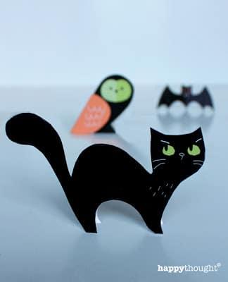 halloween decorazione gatto