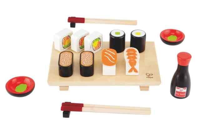 sushi in legno per bambini