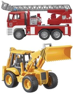 macchina vigili del fuoco giocattolo