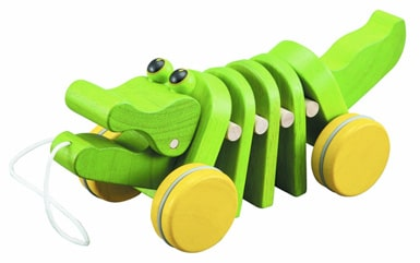 animali da trainare plantoys