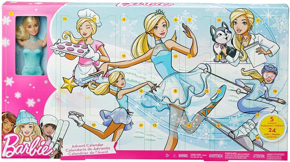 calendario avvento barbie