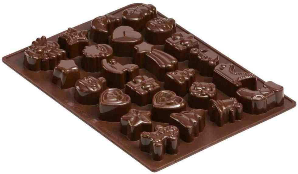 stampo cioccolatini calendario avvento