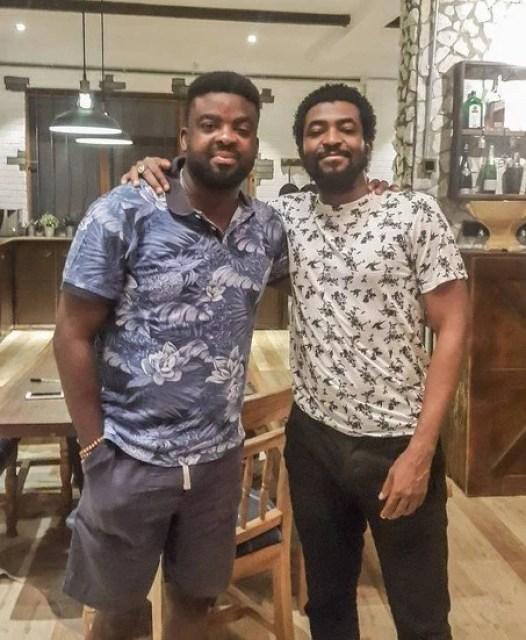 Demola Adedoyin and Kunle Afolayan