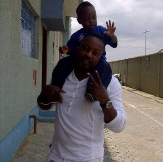 Eedris Abdulkareem and son
