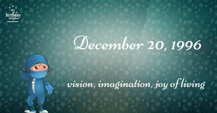 17 Fun Birthday Facts About December 20, 1996 You Must Know