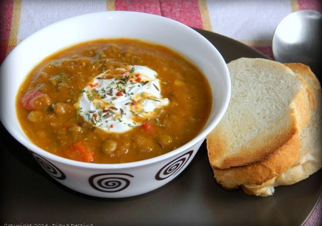 Supa cremoasa de linte