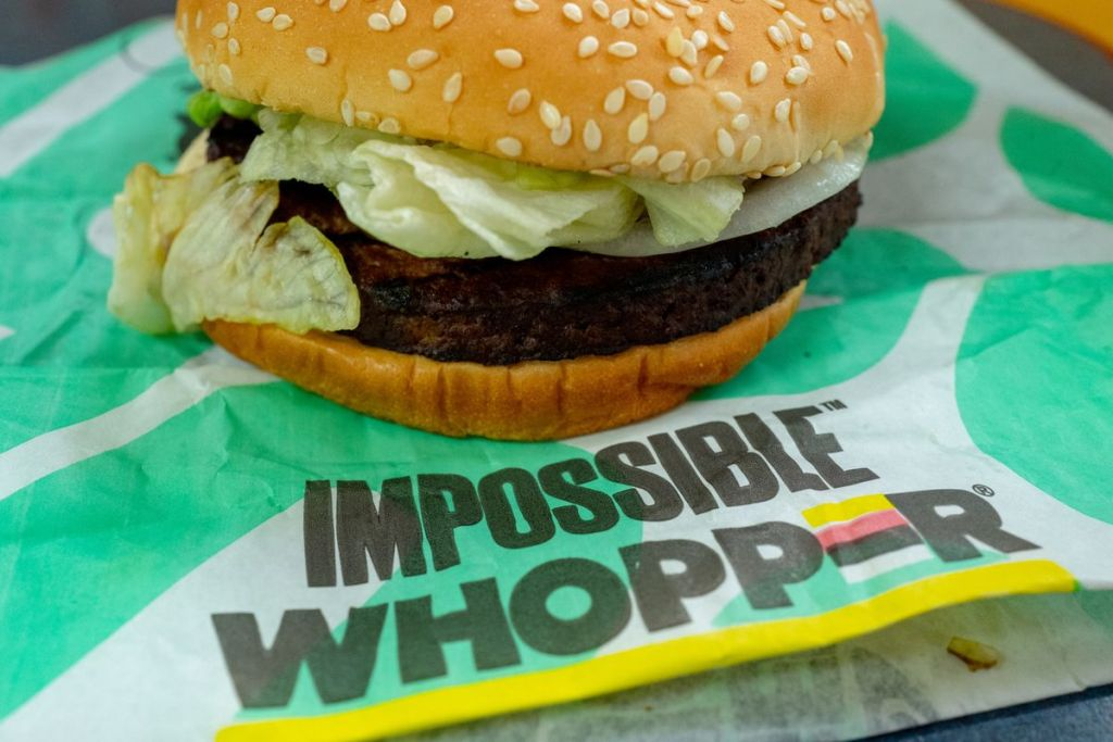 Burger King Impossible Burger