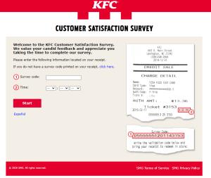 mykfcexperience.com - KFC's Satisfaction Survey - Free Chicken Go-Cup