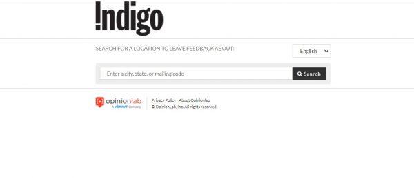 www.IndigoFeedback.com - Win $500 - Take Customer Satisfaction Survey