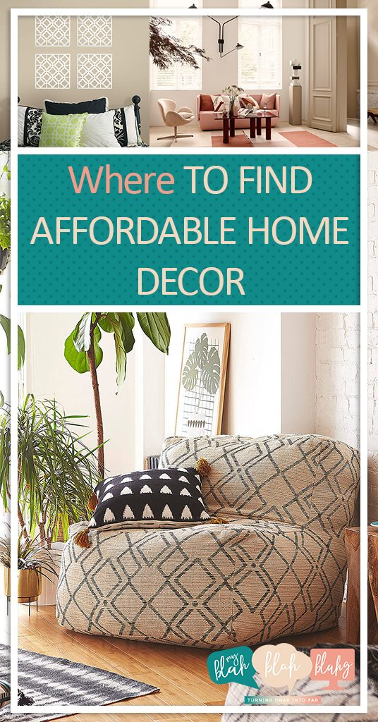 Where to Find Affordable Home Decor